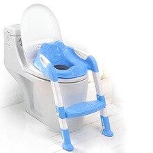 Разнообразные сиденья для унитаза и горшки для младенцев и малышей