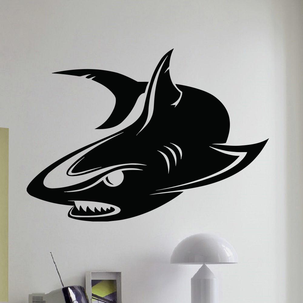 картинки наклейки акул нет