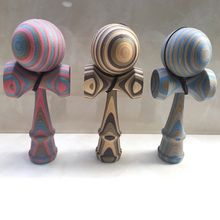 Kendama Ball Science Fiction Wooden Toy Ball Fun Toy For Children Adult Professional Game Juggling Balls Outdoor Fun Sports