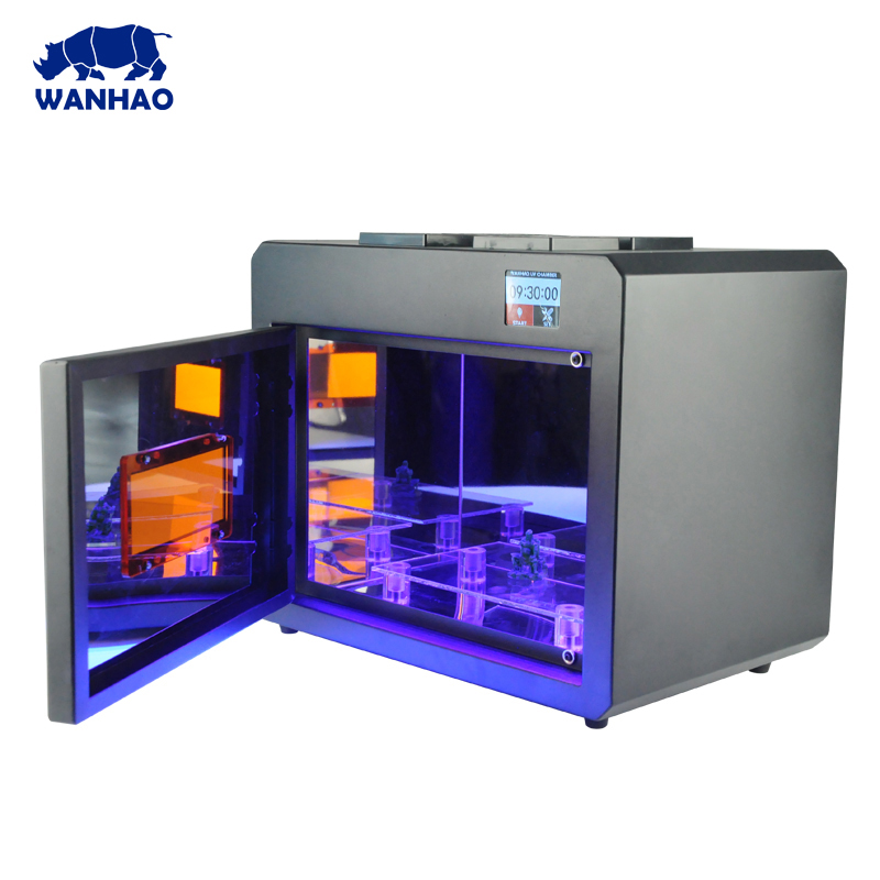 2018 WANHAO 3D Printer new version UV Curing Box WANHAO BOXMAN for sale UV curing chamber the 3d printer curing uv led