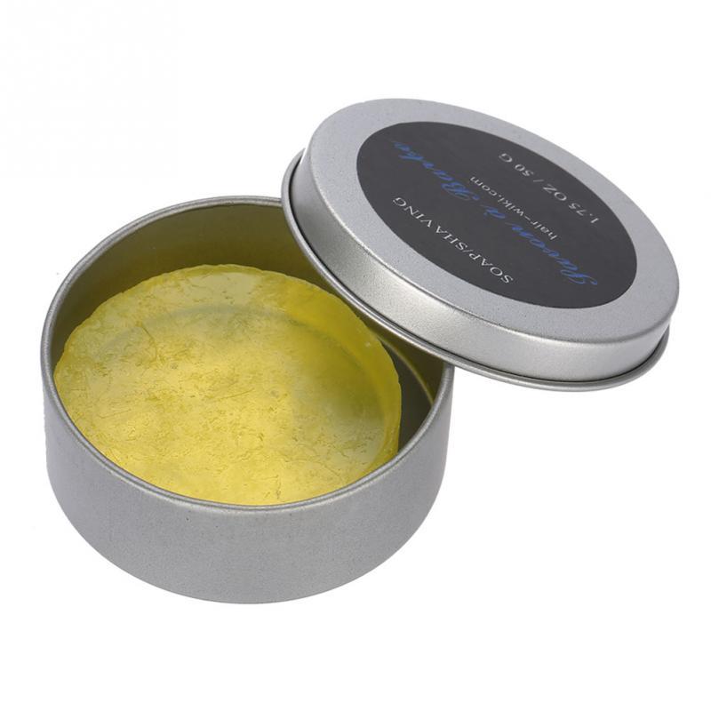 1.75OZ/50G Shaving Soap For Men Handmade Wet Shaving Soap Rich Lather Facial Beard Cleaning Shave Cream Tools Shaving Soap 1Pcs 1