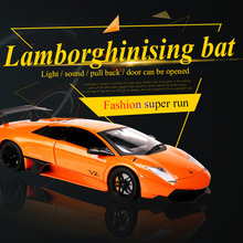 1:32 Lamborghinising Car Alloy Sports Model Diecast Sound Light Super Racing Lifting Tail Hot Wheel For Children Gift