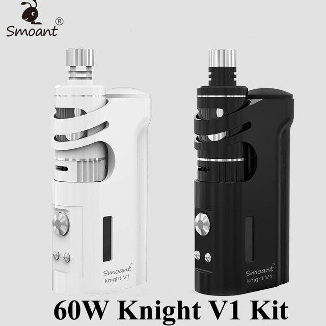 Electronic Cigarette Vape Box Mod E Hookah Vaporizer Smoant Knight V1 60W TC Mod E Cigarette Kit Cloupor Talos V1 Atomizer X1074