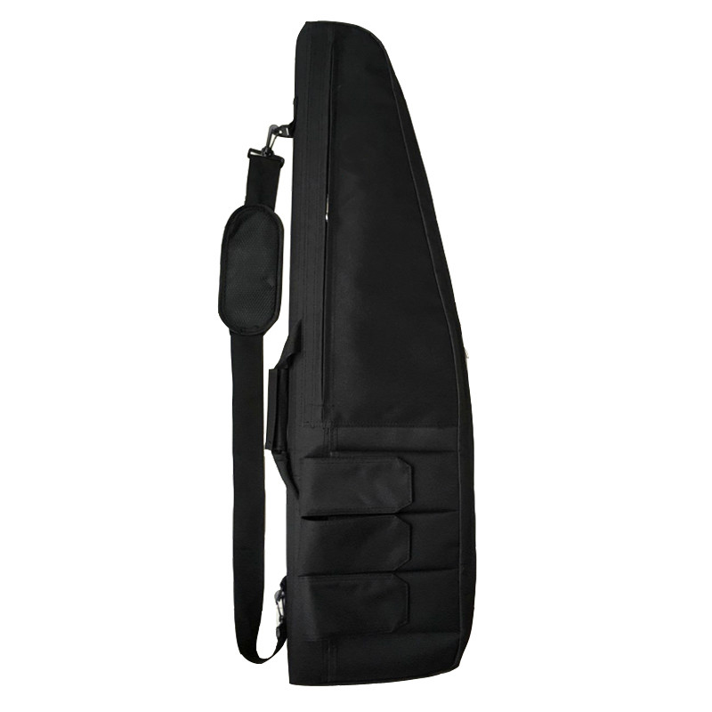 Image 2 - 98cm / 118cm Military Shooting Hunting Rifle Bag Sniper Rifle Gun Case Tactical Gun Bag Outdoor Airsoft Bag Heavy Gun Carry Bag-in Holsters from Sports & Entertainment