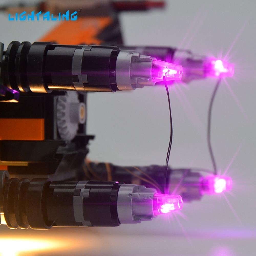 Lightaling Ensemble de lumières DEL Pour la célèbre marque 75102 - Concepteurs et jouets de construction - Photo 4