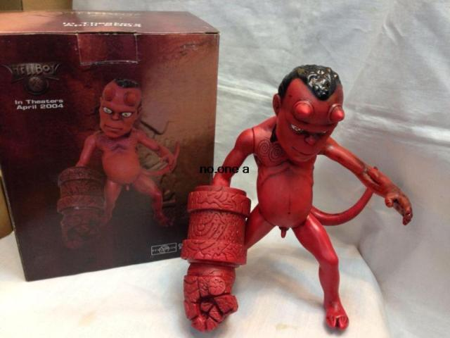 Children S Toys In Hand To Do Animation Hellboyfs Hellboy Hellboy