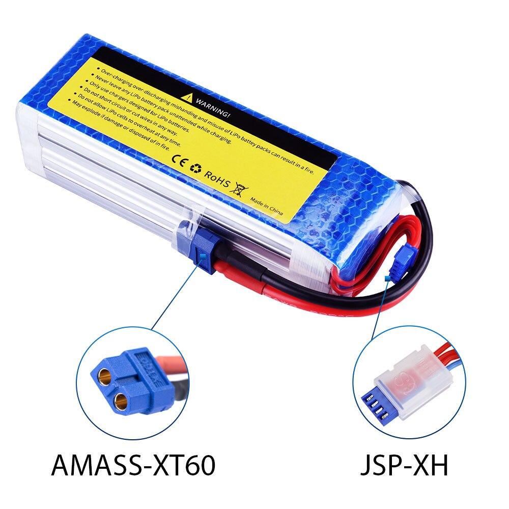 Image 4 - Батарея SEASKY 3S lipo 11,1 V 5200mAh 60C RC батарея XT60 для Радиоуправляемый Дрон, автомобиль-in Детали и аксессуары from Игрушки и хобби on AliExpress - 11.11_Double 11_Singles' Day