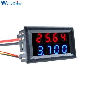Image 3 - Kırmızı mavi çift dijital LED AMP ekran DC voltmetre ampermetre 4 Bit 5 teller DC 200V 10A voltaj Volt akım ölçer güç kaynağı