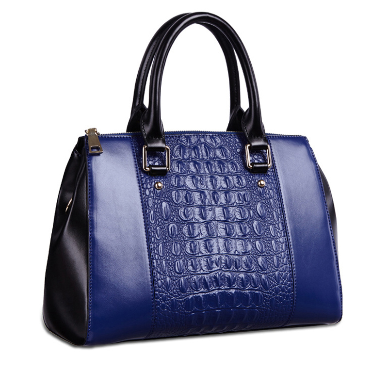 2016 High Quality Famous Brands Designer 100% Genuine Leather Women Messenge Bag Ladies Crocodile Pattern Handbags Free Shipping [zob] supply of new original omron safety door switch d4bs 35fs d4ns 4af substitute 2pcs lot