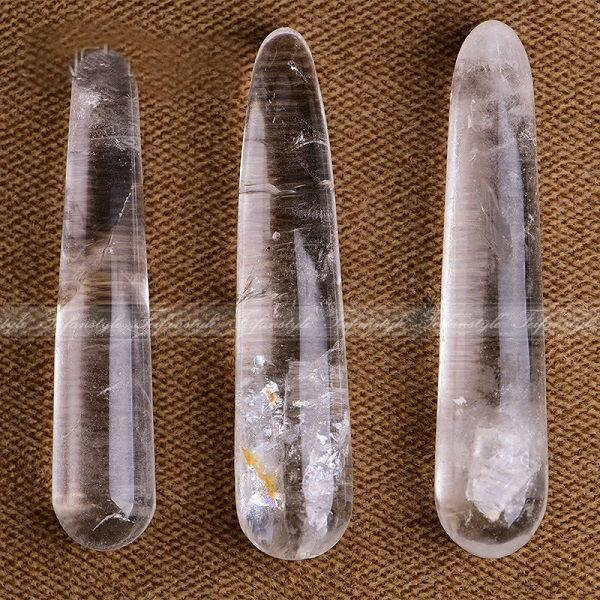 1 Piece Natural White Quartz Crystal Body Massage Wand Powerful Healing A325 Natural stones and minerals1 Piece Natural White Quartz Crystal Body Massage Wand Powerful Healing A325 Natural stones and minerals