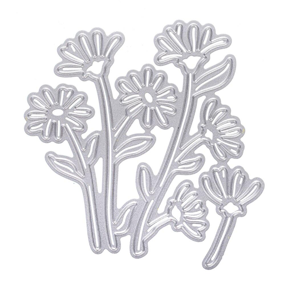 Scrapbooking Dies Metal Steel Embossing Template Leaf Flowers