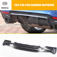 Carbon Fiber Rear Bumper Diffuser Protecter for BMW F32 F33 F36 4 Series 420 428 435 440 with M Sport Package