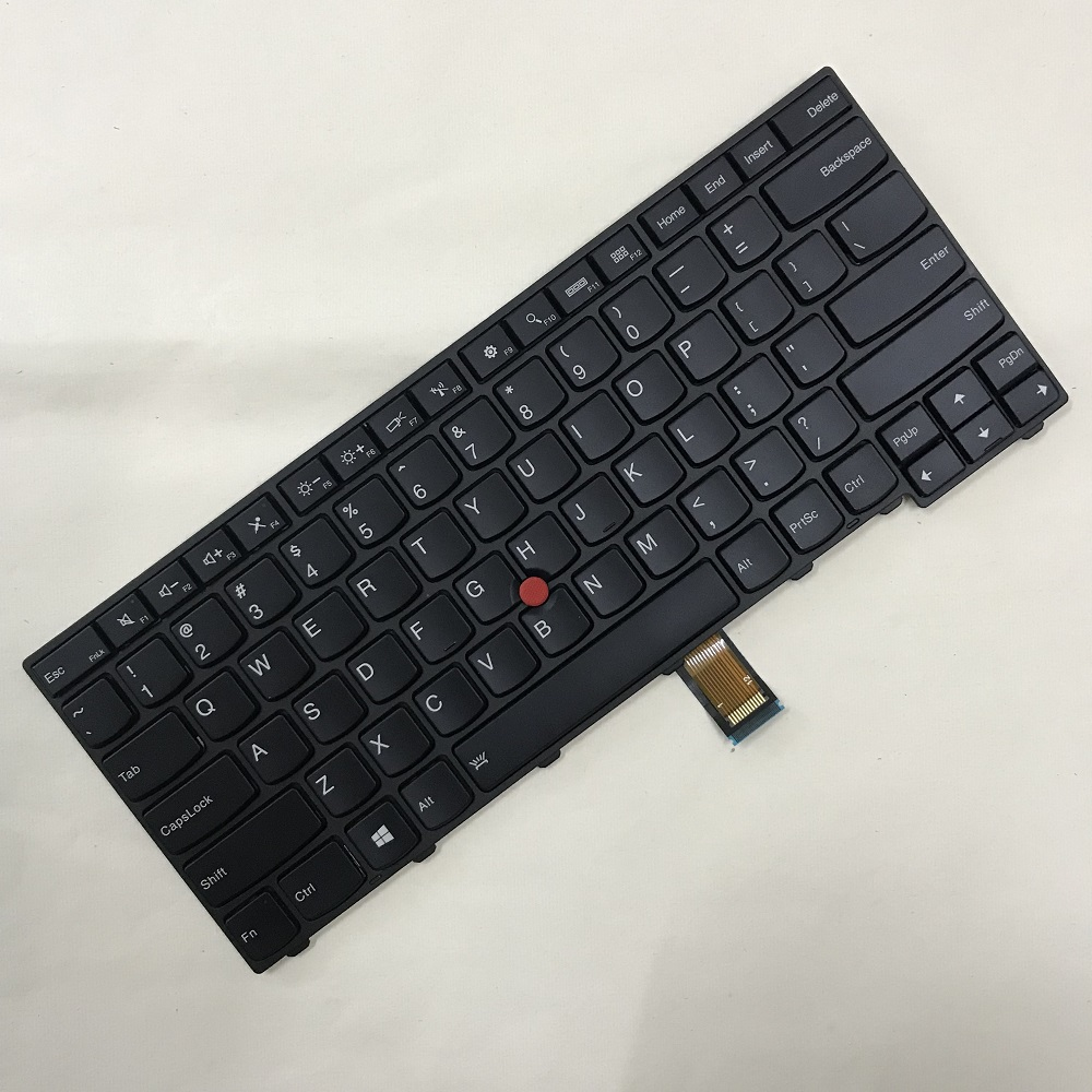 Original Backlight <font><b>Keyboard</b></font> for Lenovo Thinkpad T431S T440 T440P T440S T450 T450S <font><b>T460</b></font> Genuine T450 T440S T450S Backlit <font><b>Keyboard</b></font> image