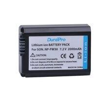 DuraPro – batterie NPFW50 NP FW50 pour Sony Alpha A33 A35 A37 A55