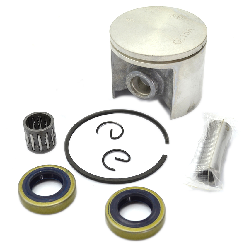 50mm Chainsaw Piston Needle Bearing Oil Seal Kit For Jonsered chainsaw 670 Husqvarna chainsaw model 266, 268 changchai 4l68 engine parts the set of piston piston rings piston pins