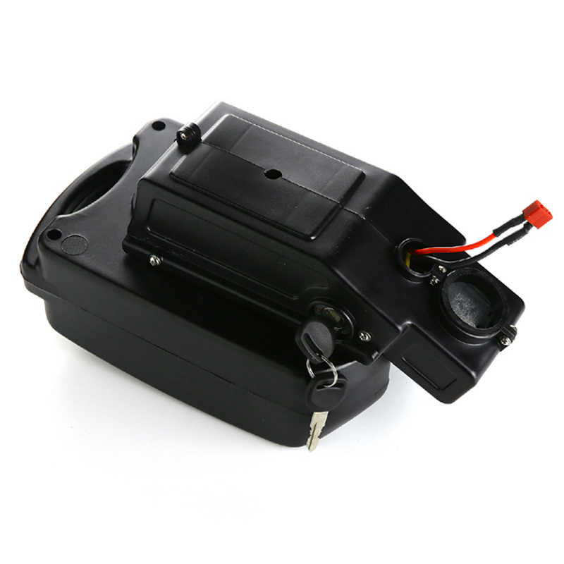 Free shipping 48V 15AH Electric Bicycle Battery 48V 1000W Li-ion Battery with  charger + BMS+Frog case  for Samsung cell