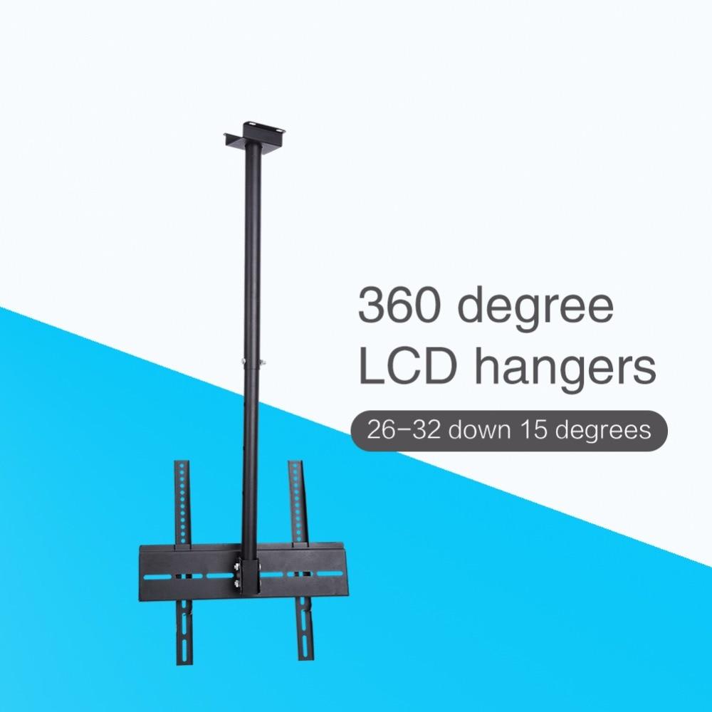"""26""""-32"""" LCD LED Monitor Flat Tilting Swivel TV Ceiling Roof Mount Bracket"""