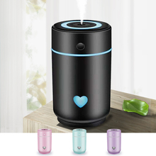 Lamp Usb Portable Air Humidifier Air For Home ABS Plastic Cylindrical ultrasonic fogger Humidifier Anti-Dry Four Color