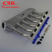 Intake Manifold Plenum + Fuel Rail Fits For For BMW E36 E46 M50 M52 325i 328i 323i M3 Z3 E39 528i