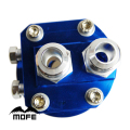 SPECIAL OFFER Universal AN10 Male Fitting Oil Filter Relocation Adapter Plate 3/4-16 UNF + M20 X P1.5