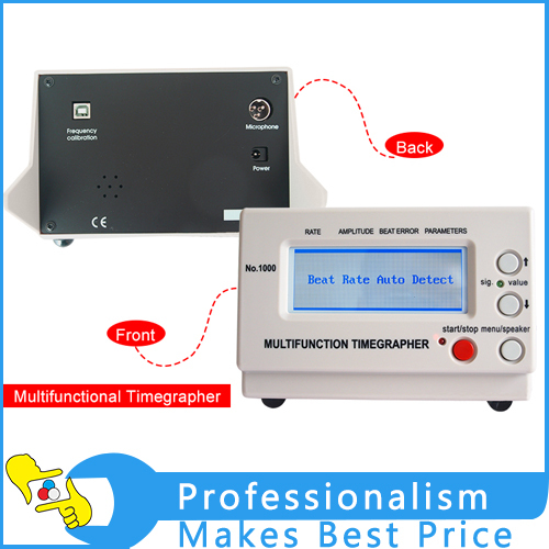 Фото Wholesale Mechanical Watch Timing Machine Multifunction Timegrapher No.1000 for watch makers and watch hobbyists