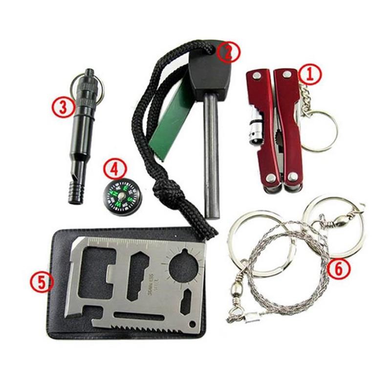 Mini SOS Kit - Mini Survival Tool Set