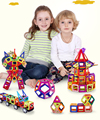 196 unids Modelos de kits de Construcción de Juguete Magnético Bloques de Construcción Magnética Diseñador Técnicas de Ladrillo Juguetes Educativos Para Niños