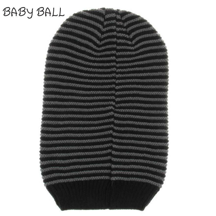 2017 Casual Cotton Knit Hats For Women Men Baggy Beanie Hat Crochet Slouchy Oversized Ski Cap Women Skullies Toucas Gorros Dec14 winter hat casual unsex knitted hats for men baggy beanie hat crochet slouchy oversized caps warm skullies toucas gorros