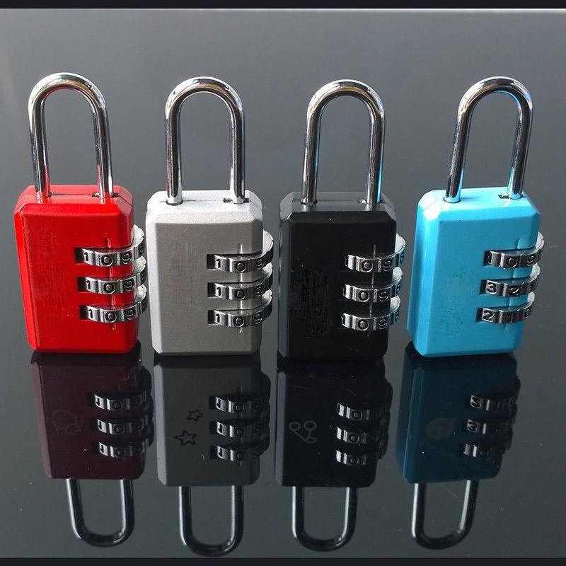 4 X Security Digit Combination Travel Valise Sacoche Code Lock Cadenas BR