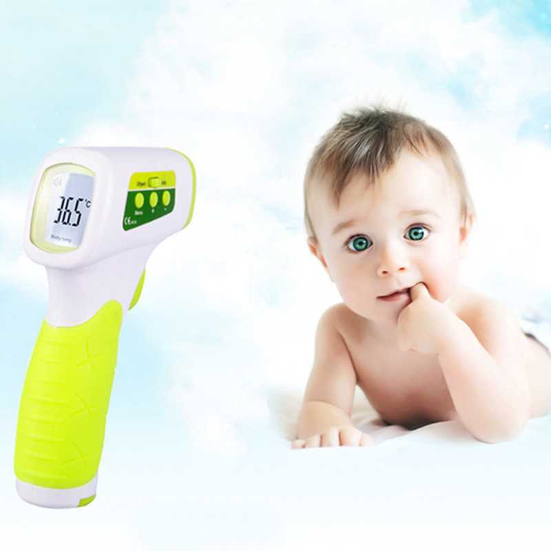 Digital Thermometer Infrared Baby Adult Non-contact Infrared Home Ear Thermometer Electronic Thermometer With LCD Backlight журавлев д кононова н пер мир в цифрах 2012 карманный справочник