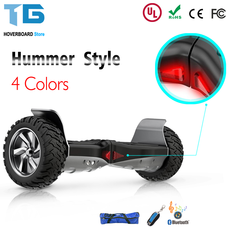 Elektryczne Electrique Self Balancing Hoverboard Scooter With Bluetooth Speaker Bag 4 Colors Gray Flame 8.5 Pouce Solid Tyre gsm lte modem simcom modules sim7100 for sms marketing data transfer at command 4g modem