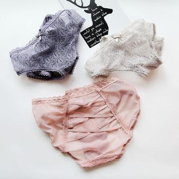 1e64d5f77518 Caliente Sexy bragas mujeres de encaje de cintura baja Tangas y G ...