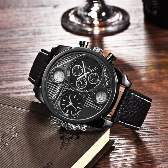 Casual Leather Quartz Watch