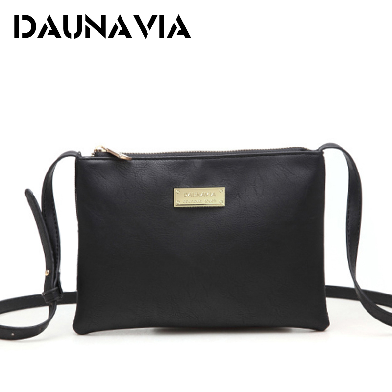 DAUNAVIA Women Handbags Famous Designer PU Leather Women Messenger Bags Shoulder Bag Female Clutch bags for women crossbody bags famous brand mini crossbody bags for women messenger bags small female shoulder bags women handbags clutch phone purse bag