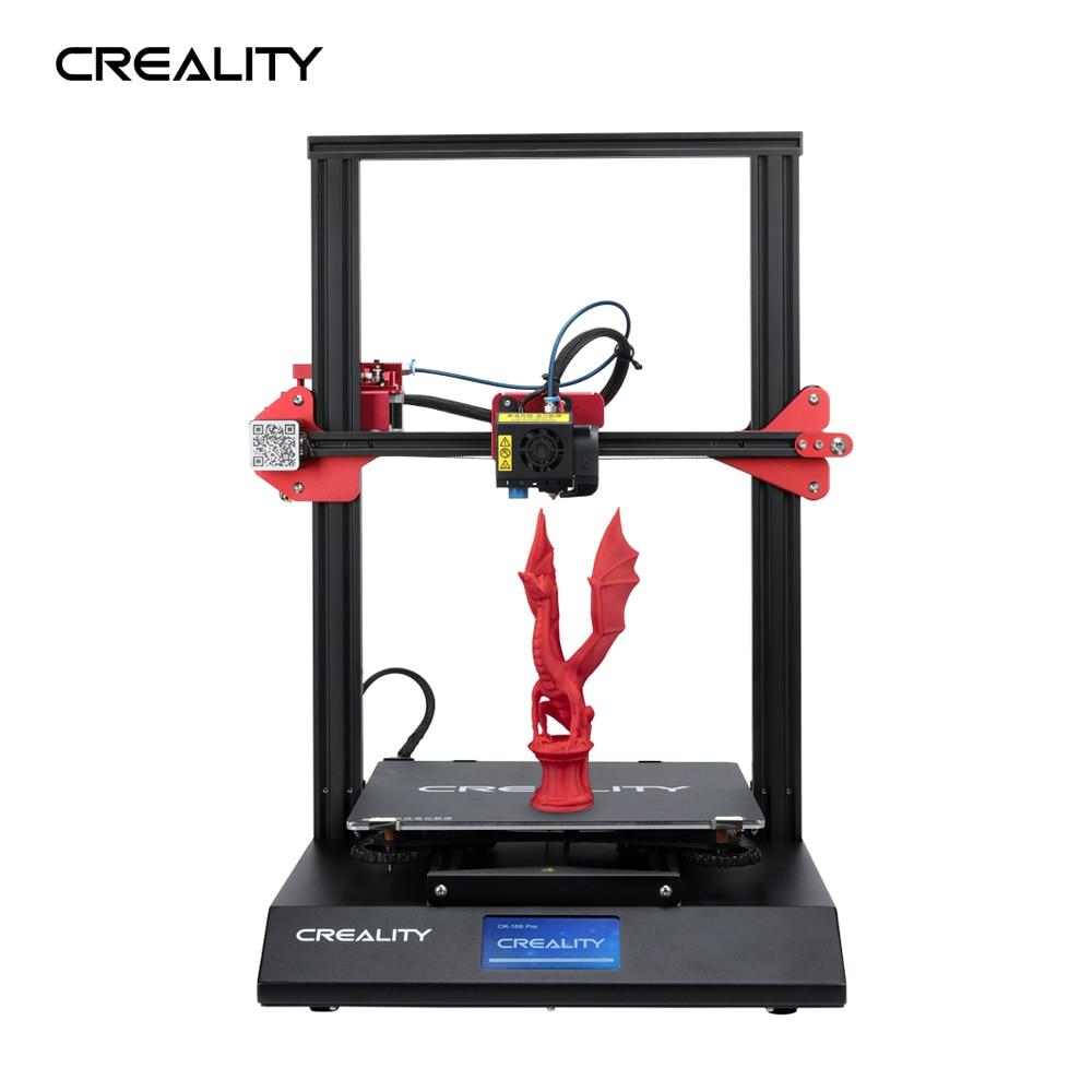 Creality 3d atualização de nivelamento automático CR-10S pro touch lcd v2.4.1 placa-mãe dupla extrusão retomar impressão filamento detecção