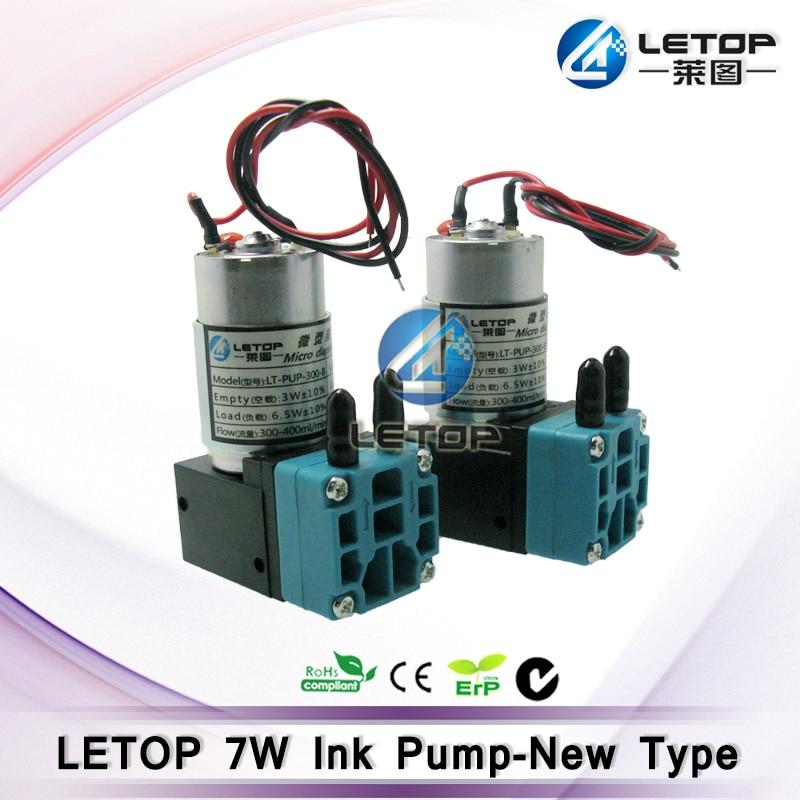 7w 24 300 400ml inkjet printer big solvent ink pump