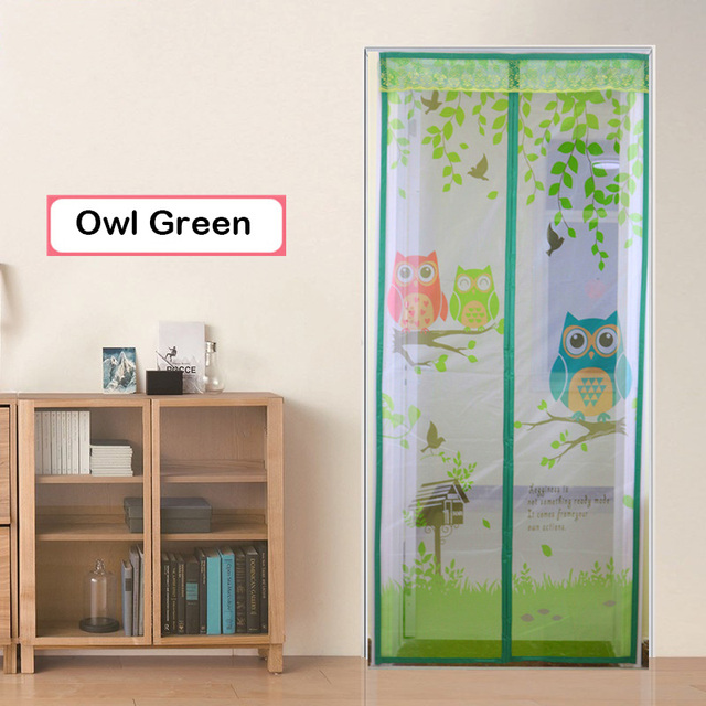 2016 new arrival owl and monkey style magnetic anti fly mosquito net doors curtain and window  sc 1 st  AliExpress.com & 2016 new arrival owl and monkey style magnetic anti fly mosquito net ...