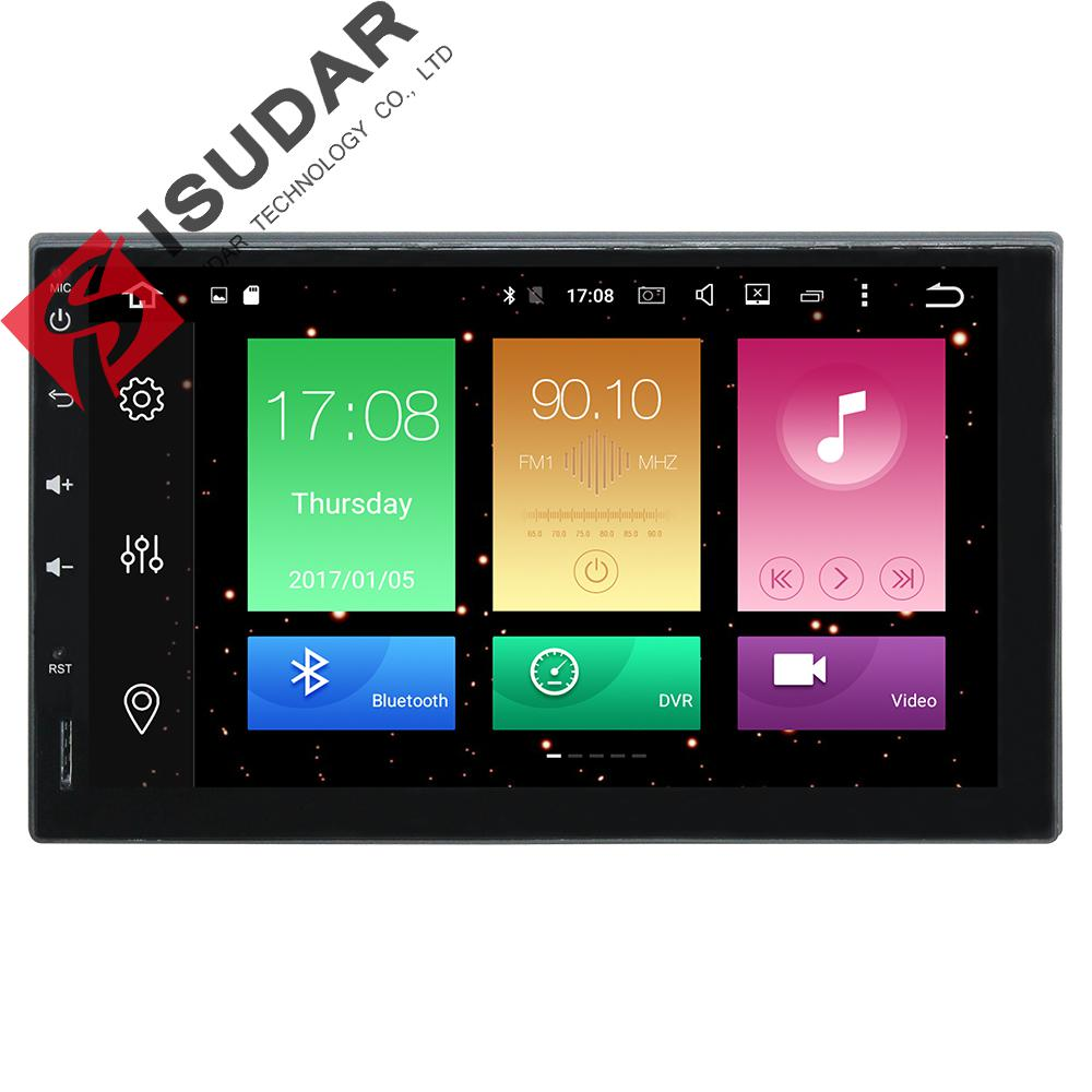 7 Two Din Android 6.0.1 Universal Car Tap PC Tablet Player Octa Cores 2G RAM 32G ROM 3G/4G GPS Navigation Radio Stereo Video original 7 shockproof rugged waterproof tablet pc octa cores cell phone gnss gps 2 5 glonass lf uhf rfid android 4 2 zigbee nfc