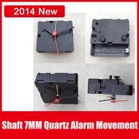 6pcs Lot Desk Table Alarm Clock Movement Machine Quartz Parts Alarm Clocks With Hands