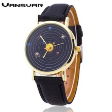 Vansvar Hot Solar System font b Watch b font Fashion font b Women b font Quartz