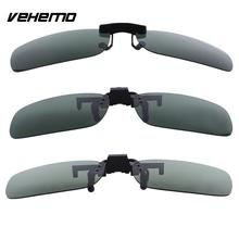 Polarized Lenses Flip Up Clip On Shield Protector for Sunglasses