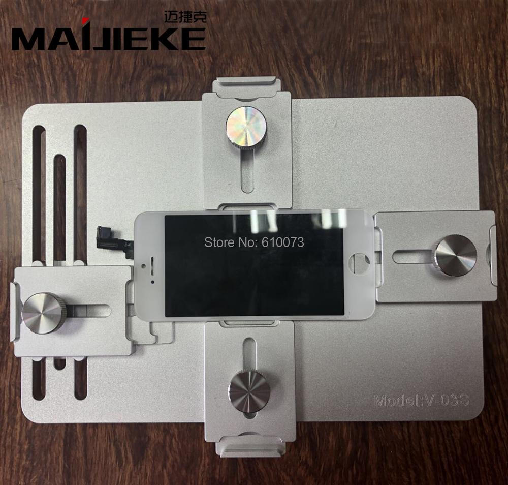 MAIJIEKE for iPhone X 8 7 6s plus Universal Mold Mould to Position LCD Glass Holder For Samsung Screen Refurbishing RepairMAIJIEKE for iPhone X 8 7 6s plus Universal Mold Mould to Position LCD Glass Holder For Samsung Screen Refurbishing Repair