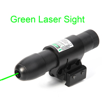 Green Laser Sight Scope Tactical Hunting Scope Laser Pointer Outdoor Night Vision Rifle Airsoft Laser Indicator Collimator Sight