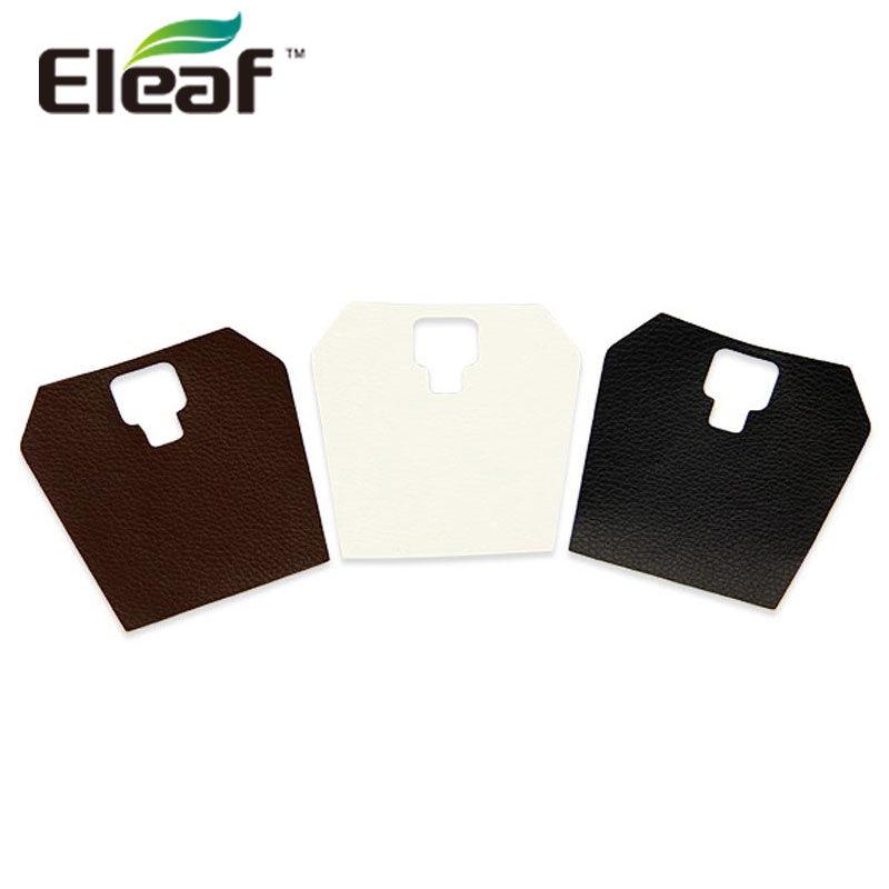 3 pieces Eleaf Aster Total Kit Stickers Leather Sticker for Eleaf Aster Total High Quality