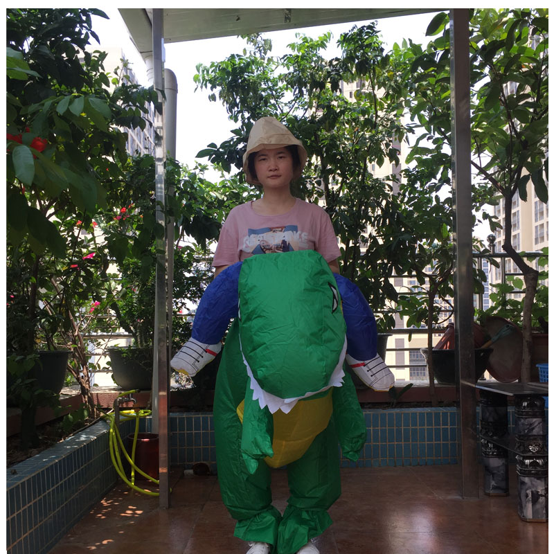 INFLATABLE DINOSAOUR COSTUME (3)