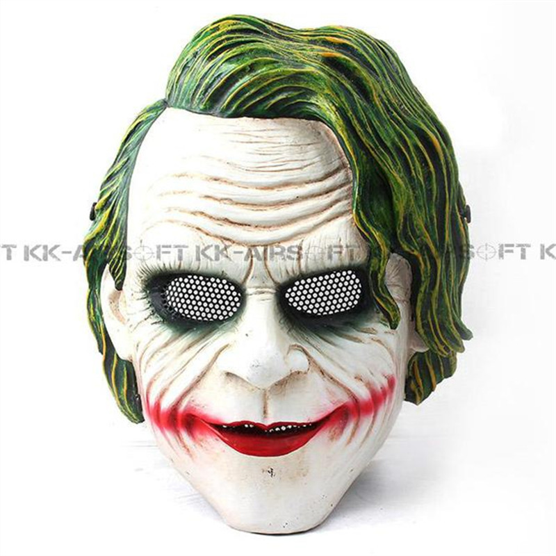 FMA Party Mask Airsoft Wire Mesh Batman Joker Full Face Mask TB648