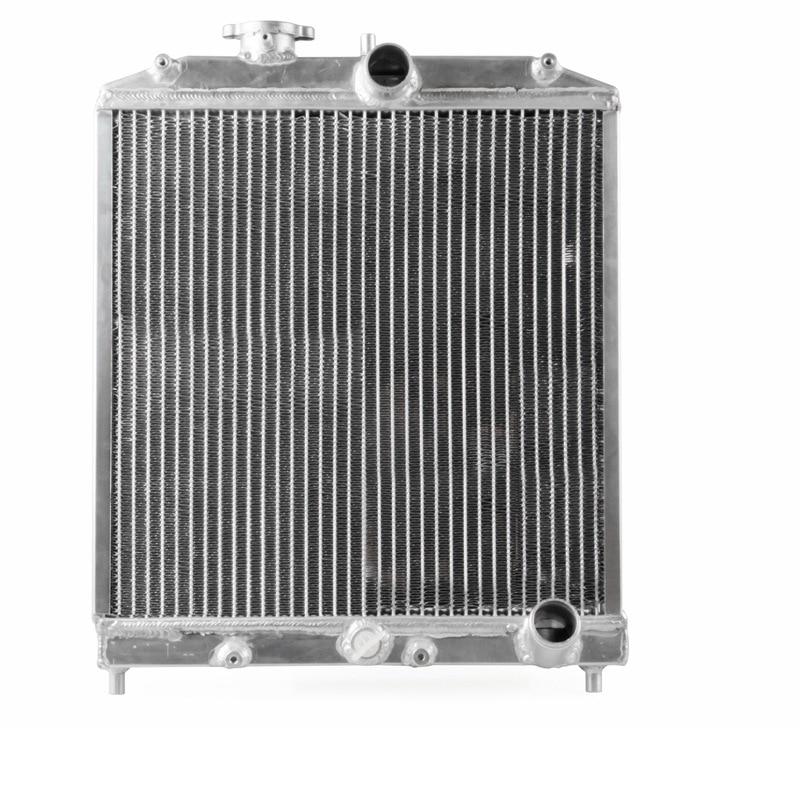 New Arrive Silver Color 2 Row 42MM Aluminum Car Auto Radiator For Honda Civic 92-00 MT EG / EK