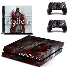 Game Bloodborne PS4 Skin Sticker Decal Vinyl for Sony Playstation 4 Console and 2 Controllers PS4 Skin Sticker цена