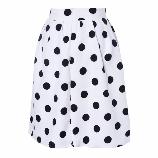 Sleeper #401 2019 NEW FASHION Women Bodycon Polka Dot Umbrella Skirt Retro Puff Skirts casual wear summer charm Free Shipping 3