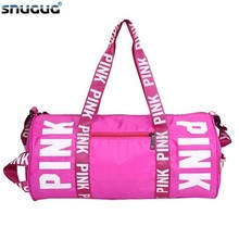 SNUGUG Nylon Woman Sport Bag For Fitness Waterproof Clothing Girls Outdoor Pink Gym Men Training Travel Handbags